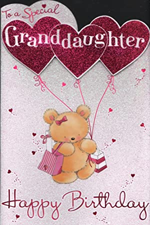 Granddaughter birthday card to a special granddaughter happy granddaughter birthday card to a special granddaughter happy birthday bookmarktalkfo Gallery