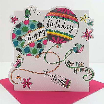 Rachel Ellen - Gama de nube - ¡Feliz cumpleaños! Tarjeta de ...