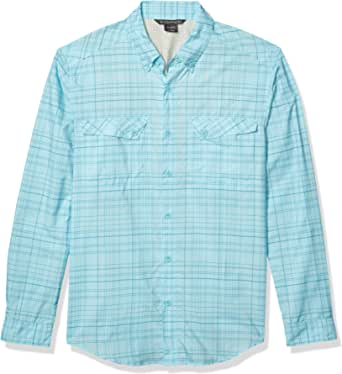 ExOfficio M Minimo Plaid Long Sleeve Shirt