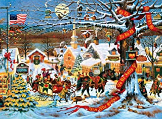 product image for Buffalo Games - Charles Wysocki - Small Town Christmas - 1000 Piece Jigsaw Puzzle