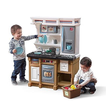 amazon com step2 lifestyle custom kitchen playset toys games rh amazon com