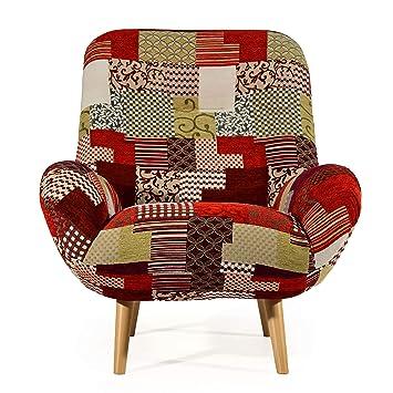 Cocoon Design - Silla escandinavo Retro Oslo Tejido ...