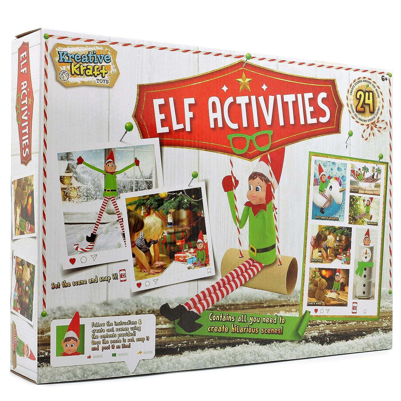 Lutin de Noël Elf Accessories Activité Créative pour Enfants Jeux de Fête F&F Stores