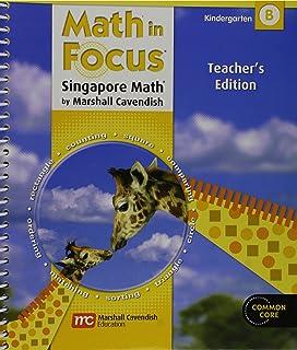 Amazon math in focus singapore math teachers edition book a math in focus singapore math teachers edition grade k volume b 2012 fandeluxe Image collections