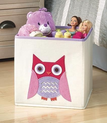 Amazon.com: Whitmor 6256-4925 cubo para guardar juguetes ...