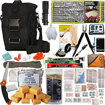 Amazon.com   PREPPER S FAVORITE  Emergency Get Home Bag with First ... ef8686f3b8803
