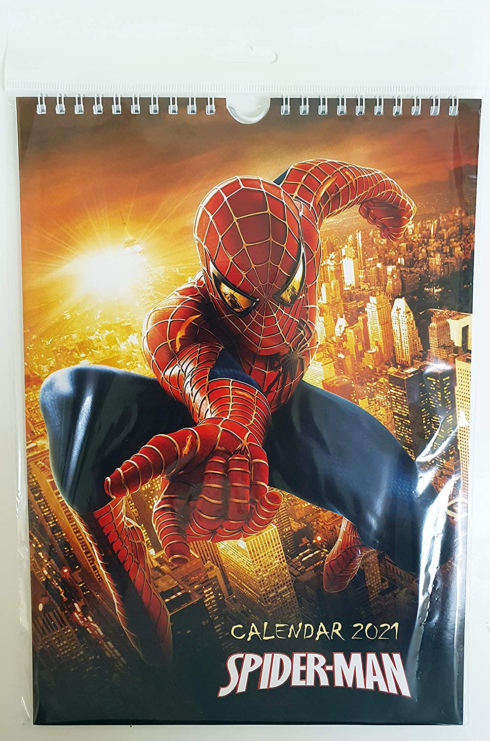 Amazon.: Spiderman Wall Calendar New 2021 A4 : Office Products
