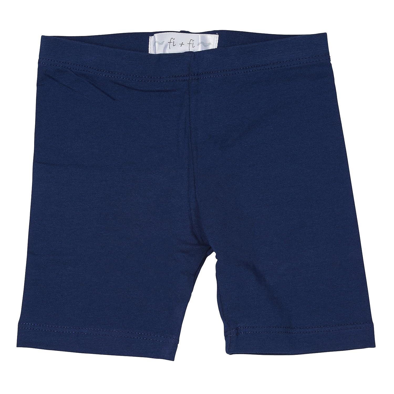 fi+fi Cotton Unisex Kids/Toddler/Baby Biker Shorts