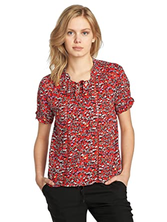 9bc4b500ede Grace & Mila Women Blouses/Tunics Panache red M: Amazon.co.uk: Clothing