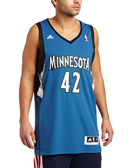 4e48b91b0a0 NBA Minnesota Timberwolves Kevin Love Road Swingman Jersey Blue, Small