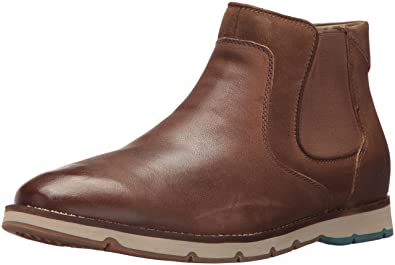 Hush Puppies Men's burwell Hayes Ankle Bootie, Taupe, ...