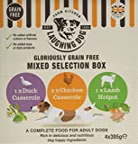 Laughing Dog Gloriously Grain Free Complete Trays Multi-Pack, 395 g