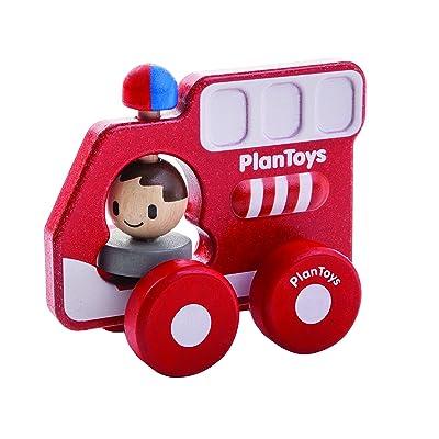 Plantoys - Pt5687 - Véhicule Miniature - Modèle Simple - Mon Premier Camion De Pompiers