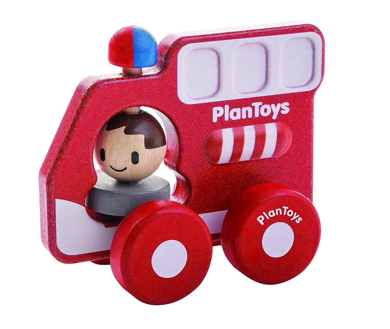 Plantoys - Pt5687 - Véhicule Miniature - Modèle Simple - Mon Premier Camion De Pompiers 0568700 Modèles simples