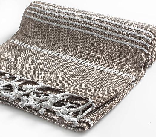 Amazon.com: 100% algodón Pestemal toalla de baño turco, 37 x 70