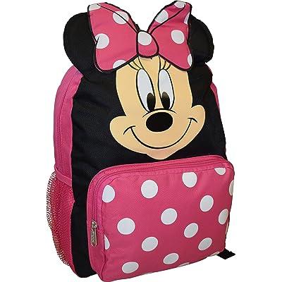"Amazon.com | Minnie Mouse Big Face 14"" School Bag Backpack | Kids' Backpacks"