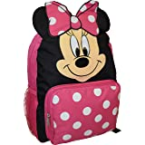 """Minnie Mouse Big Face 14"""" School Bag Backpack"""