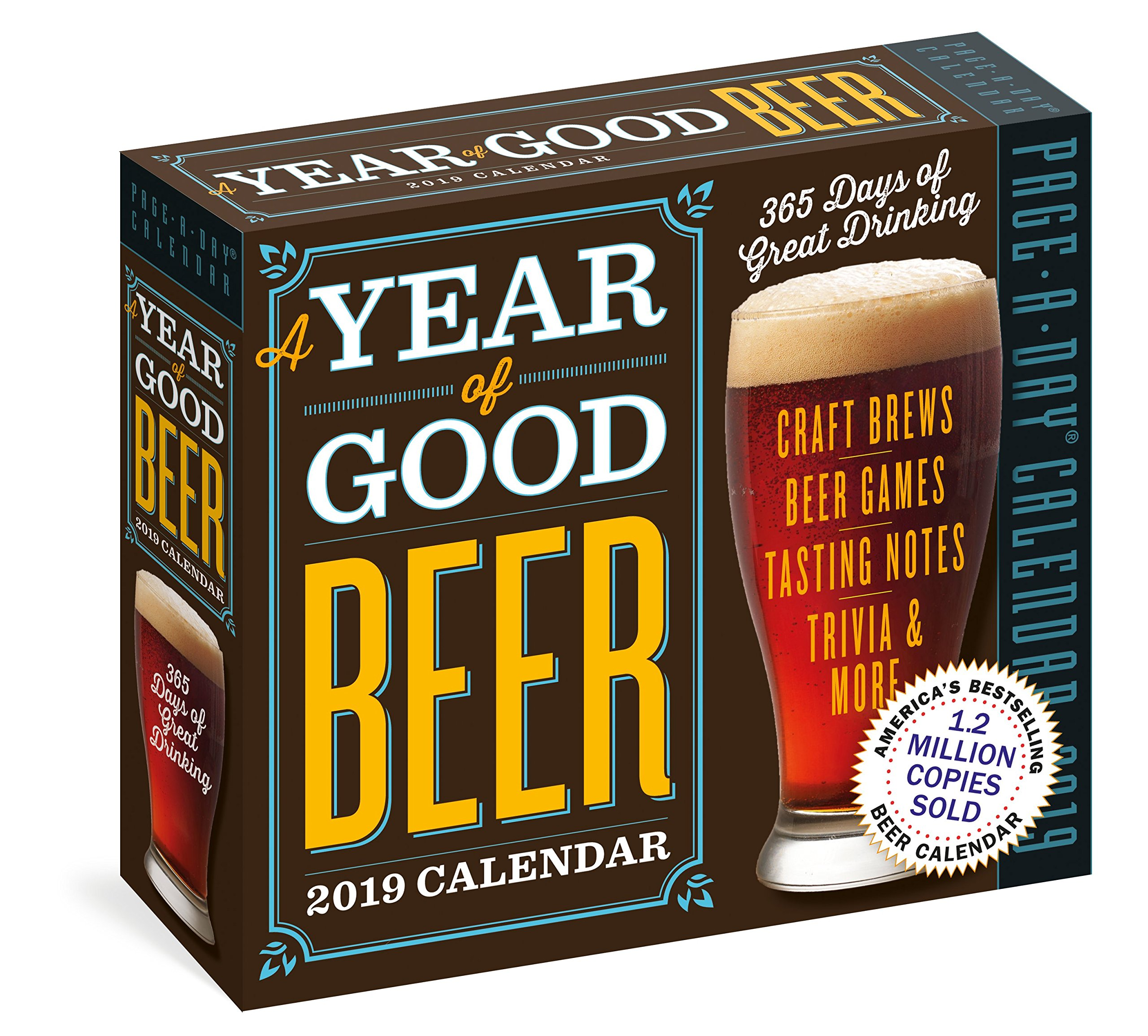 Year of Good Beer Page A Day Calendar 2019: Workman