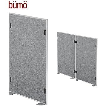Bumo Schallschutzwand 1 Element Larmschutz Akustiktrennwand