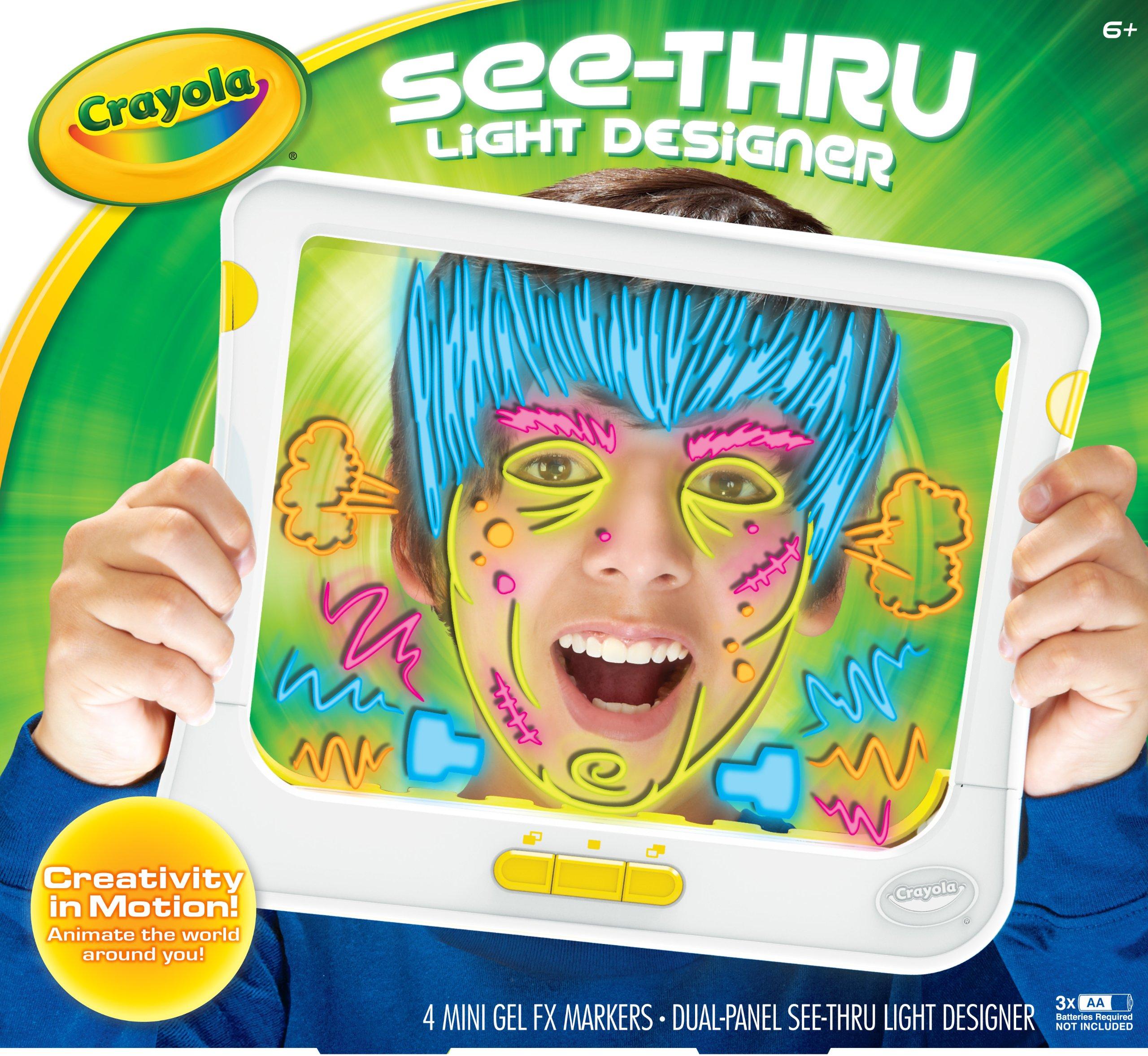 Crayola See Thru Light Designer (74-7051) by Crayola