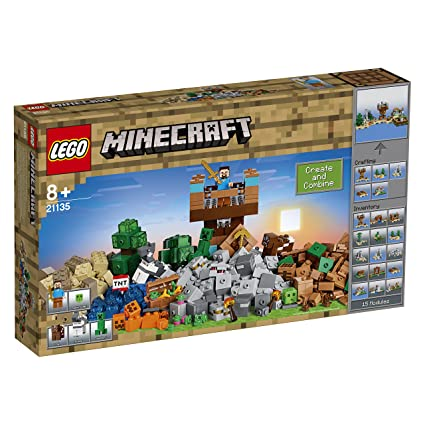 LEGO Minecraft Die CraftingBox Amazonde Spielzeug - Lego minecraft spiele deutsch
