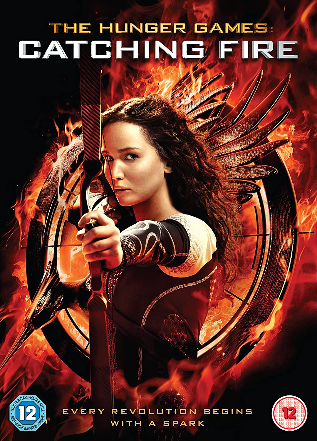 Amazon Com The Hunger Games Catching Fire Dvd 2013 Movies Tv