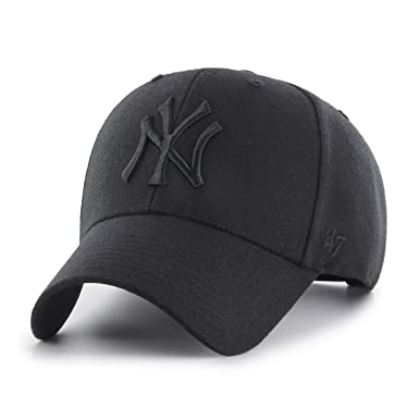 47 Gorra Brand MLB New York Yankees Ajustable Struct fit Negro OSFA (Talla única para Todos sexos): Amazon.es: Ropa y accesorios