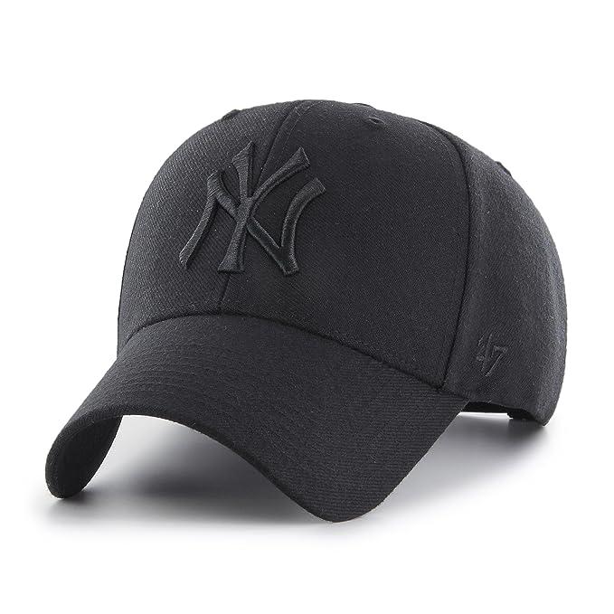 47 Gorra Brand MLB New York Yankees Ajustable Struct fit Negro OSFA (Talla  única para Todos sexos)  Amazon.es  Ropa y accesorios 05d86146560