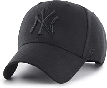 47 New York Yankees Gorra, (All Black), Fabricante: Talla única ...