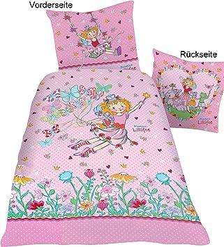 Linon Bettwäsche 135200 Prinzessin Lillifee Butterfly Neuovp 100 Baumwolle