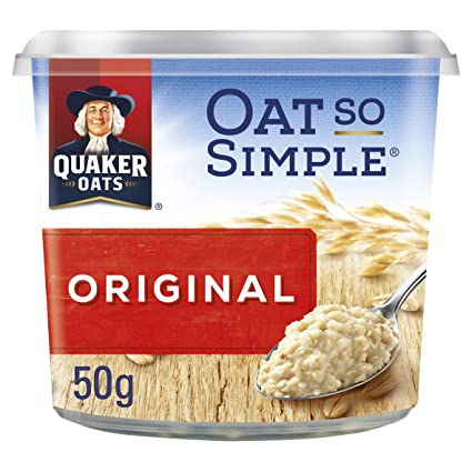 Quaker Oat So Simple Express Pot Ursprüngliche Porridge 50 G