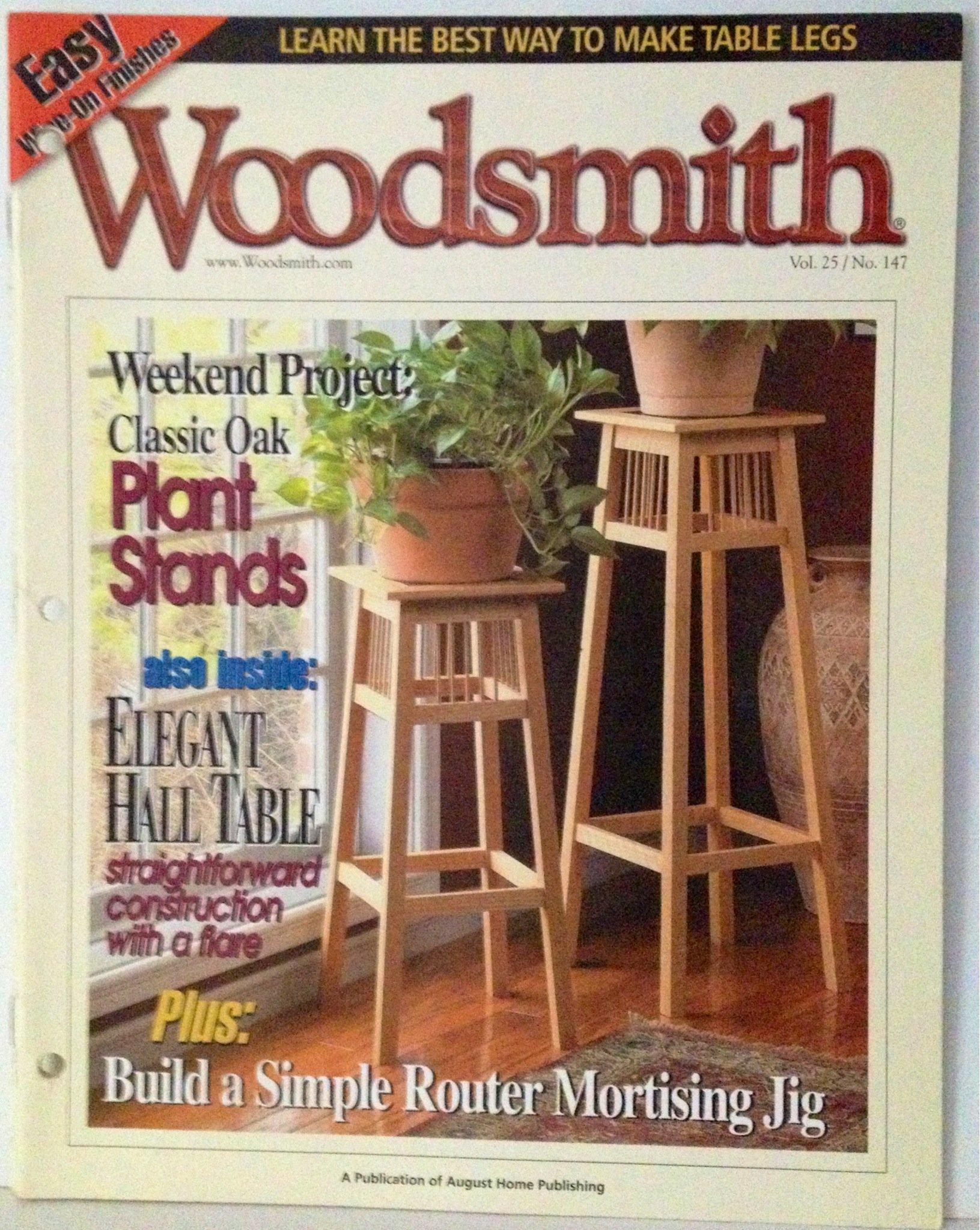 Read Online Woodsmith Magazine, Vol. 25, No.147, June 2003 ebook