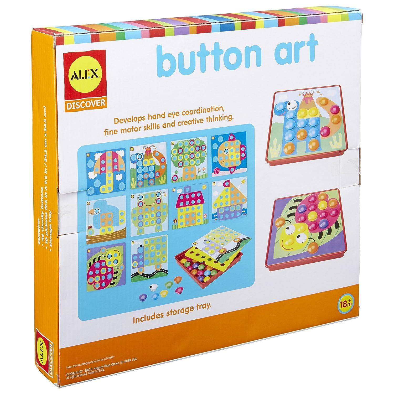 Amazon ALEX Discover Button Art Toys & Games