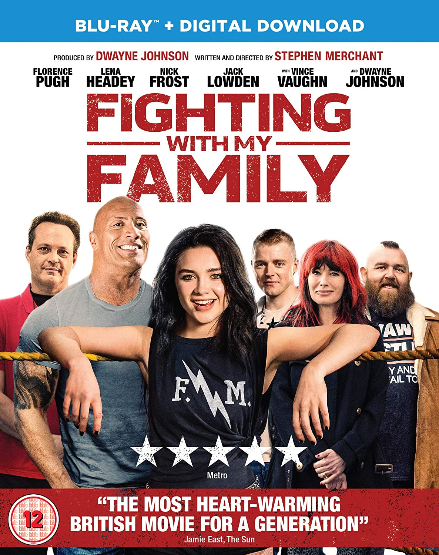 Amazon Com Fighting With My Family Blu Ray 2019 Dwayne