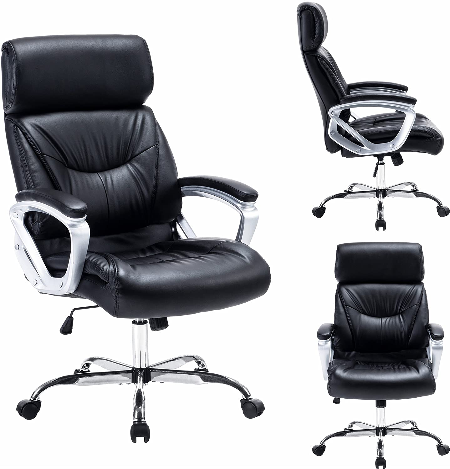 Amazon Modern High Back Leather Executive fice Chair