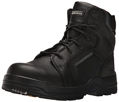 Rockport Work Men's RK6635 Work Boot,Black,6 ...