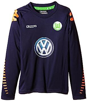 Kappa VFL – Camiseta de fútbol Goal Keeper, otoño/invierno, infantil, color