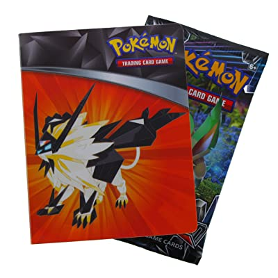 Pokemon Sun Moon Ultra Prism Mini Binder + Card Pack: Toys & Games