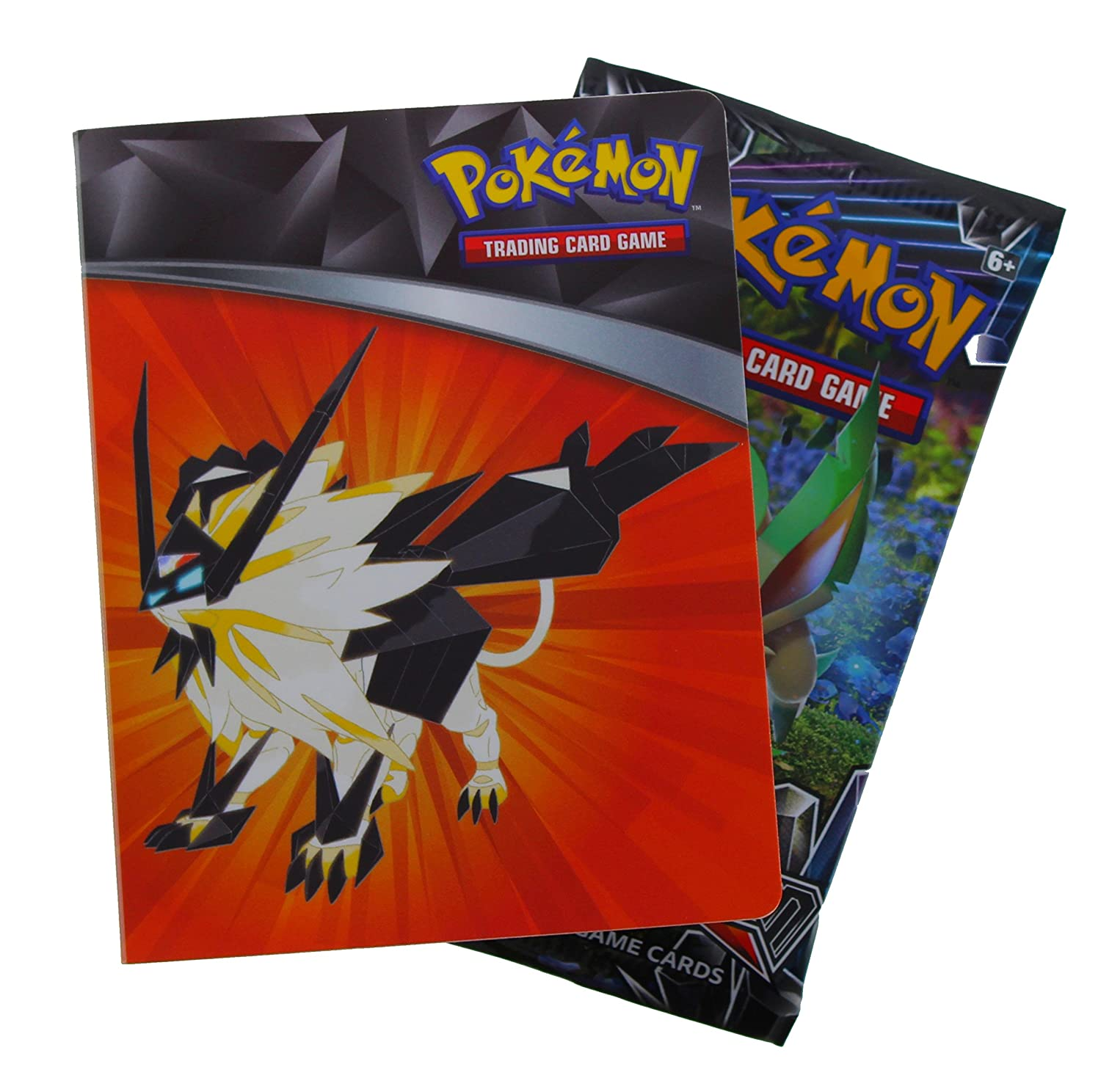 Pokemon Sun Moon Ultra Prism Mini Binder + Card Pack Excell Marketing L.C. 820650803581