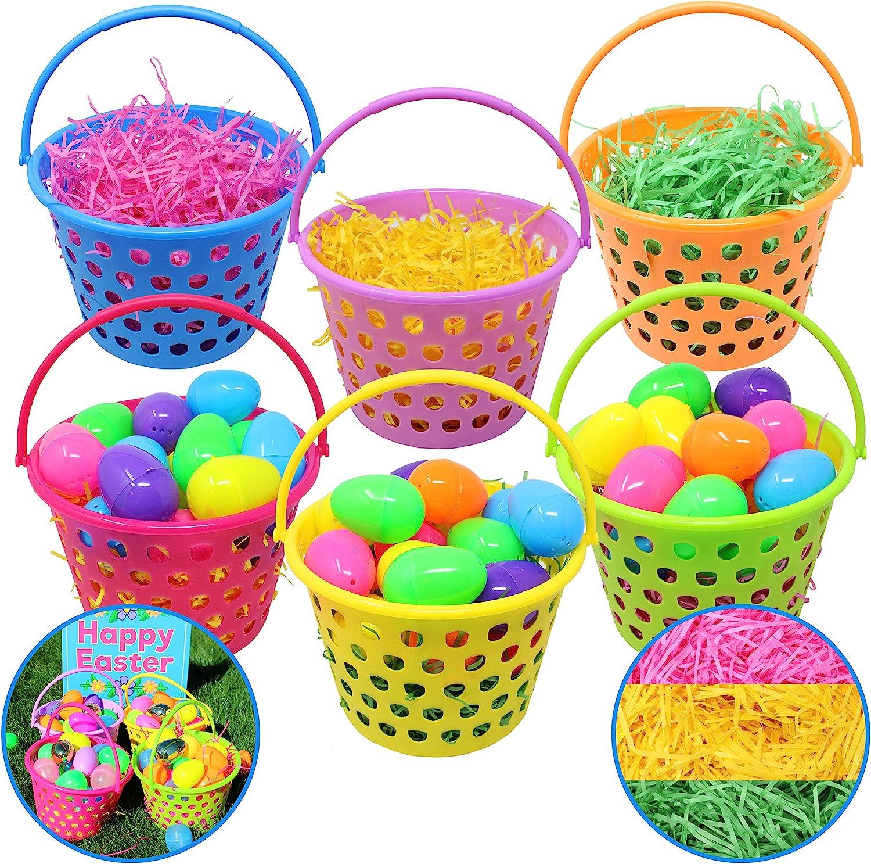 Easter bunny basket 12ct