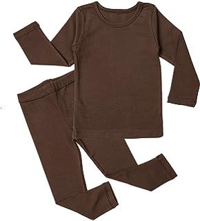 AVAUMA Baby Boys Girls Pajama Set 3M-5T Kids Cute Toddler Snug fit Pjs Cotton