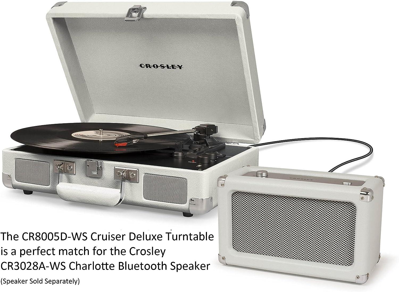 Crosley Cruiser Deluxe Vintage 3-Speed Turntable
