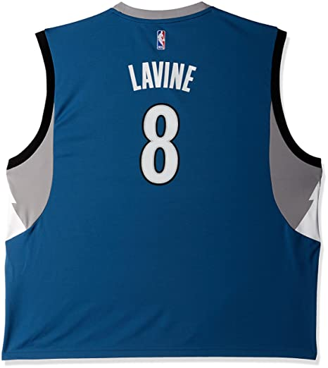 Image Unavailable. Image not available for. Color  NBA Minnesota  Timberwolves Zach LaVine  8 Men s Road Replica ... 268d26ed2
