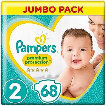 Pampers New Baby - Pañales (tamaño 2 (4 a 8 kg): Amazon.es: Salud y cuidado personal