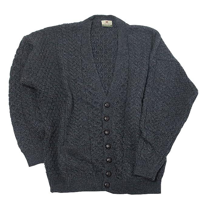 Amazon.com: Aran lana Mills para hombre lana de merino ...