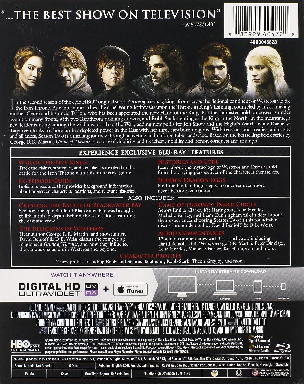 Amazon com: Game of Thrones: Season 2 [Blu-ray]: Various: Movies & TV