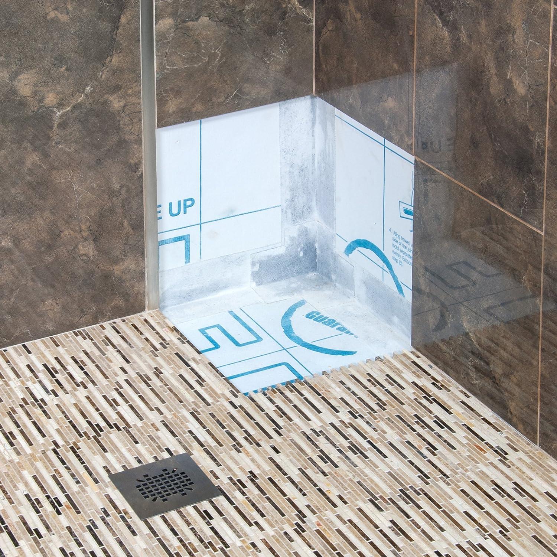 Homelux HFLEXWPMICUS Waterproof Accessory Flexible Inside Corner QEP Tools