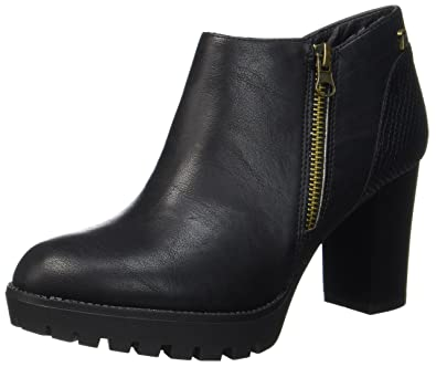 Xti 047213, Bottines Femme, (Black Black), 39 EU