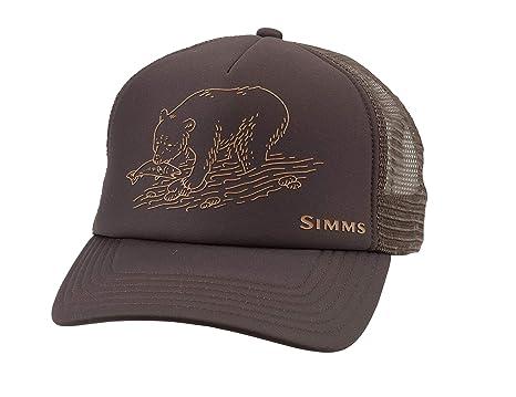 Simms Sombrero de Pesca para Hombre Adventure Trucker, Corona Alta ...