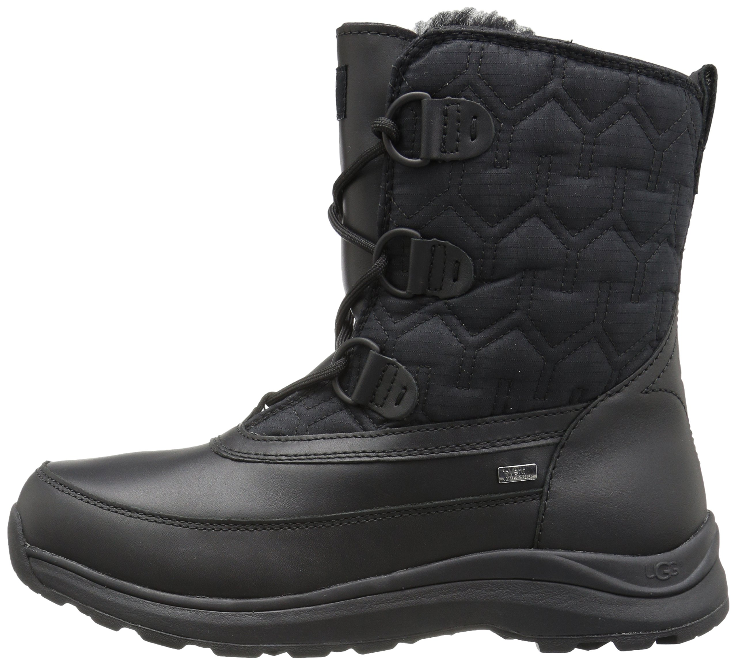 UGG Women's Lachlan Winter Boot, Black, 8 M US by UGG (Image #5)